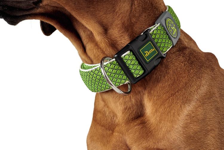 HUNTER Hilo Vario Basic/Plus Halsband Lime