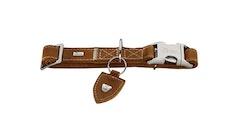 HUNTER Tara Alu-Strong Halsband Cognac