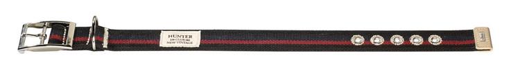 HUNTER New Orleans Halsband Stripes Svart