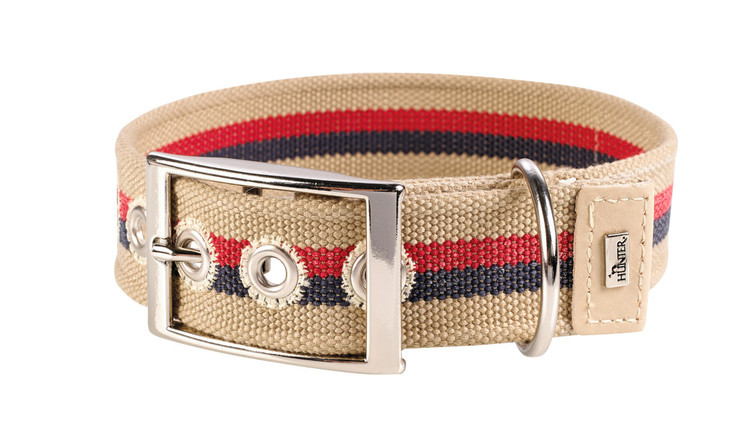 HUNTER New Orleans Halsband Stripes Beige