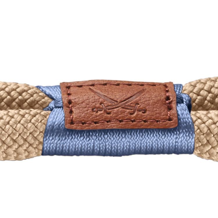 HUNTER Sansibar Rantum Hundhalsband Beige/Messing