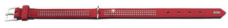 HUNTER Triluxe Halsband Röd