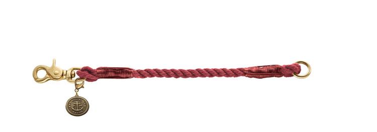 HUNTER List Hundhalsband Röd/Messing
