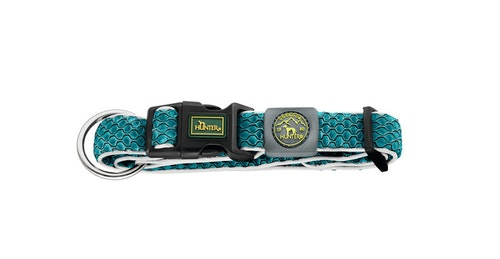 HUNTER Hilo Vario Basic/Plus Halsband Turkos