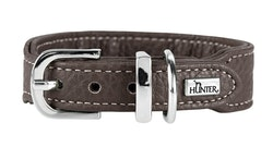 HUNTER Cannes Mini Hundhalsband Kalvläder Brun (Best. vara)