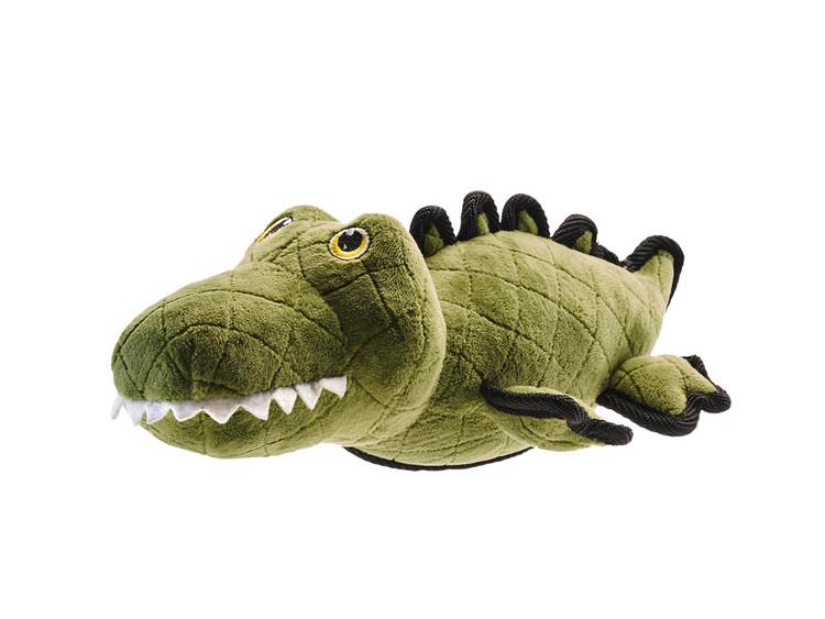HUNTER Tough Toys Hundleksak utan pip Krokodil