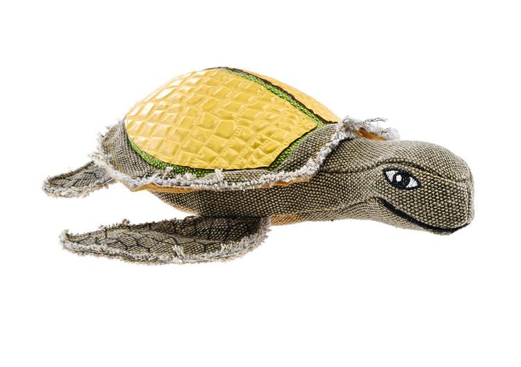 HUNTER Tough Tambo Hundleksak med pip Sköldpadda