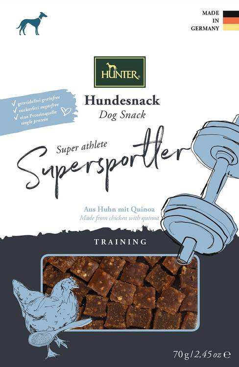 HUNTER Training Super Athlete Hundgodis