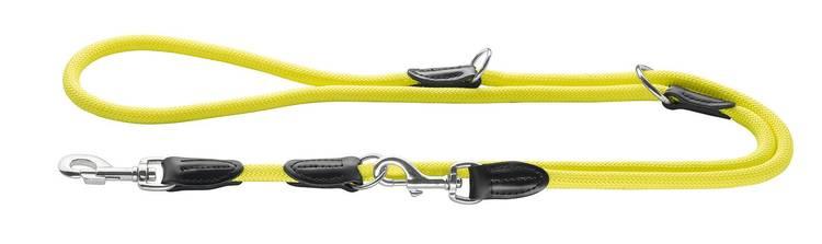 HUNTER Multikoppel Freestyle Nylon Gul 200cm