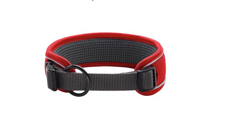 HUNTER Divo Halsband Röd Extra Brett