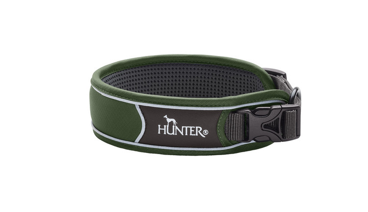 HUNTER Divo Halsband Grön Extra Brett