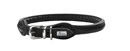 HUNTER Round & Soft Halsband Svart