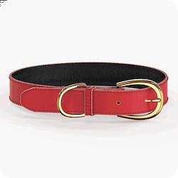 Swaggin Tails Halsband Röd