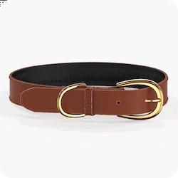 Swaggin Tails Halsband Brun