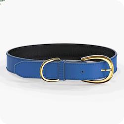Swaggin Tails Halsband Blå