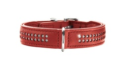 HUNTER Diamond Elk Petit Halsband Chili (Best. vara)