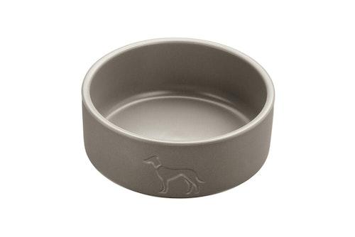 HUNTER Osby matskål keramik taupe