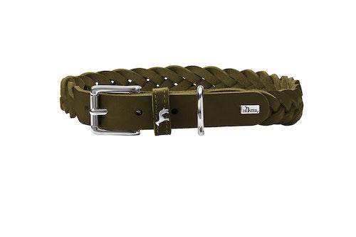 HUNTER Solid Education Special Halsband Oliv (Best. vara)