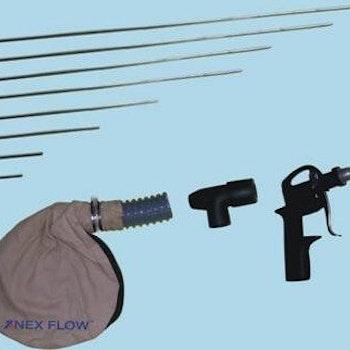 Ejektor-blåspistol för att tömma bottenhål.