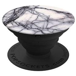 POPSOCKETS White Marble Självhäftande Hållare/Ställ