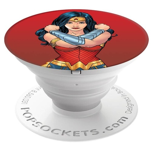 POPSOCKETS Wonder Woman Självhäftande Hållare/Ställ Premium DC Comics