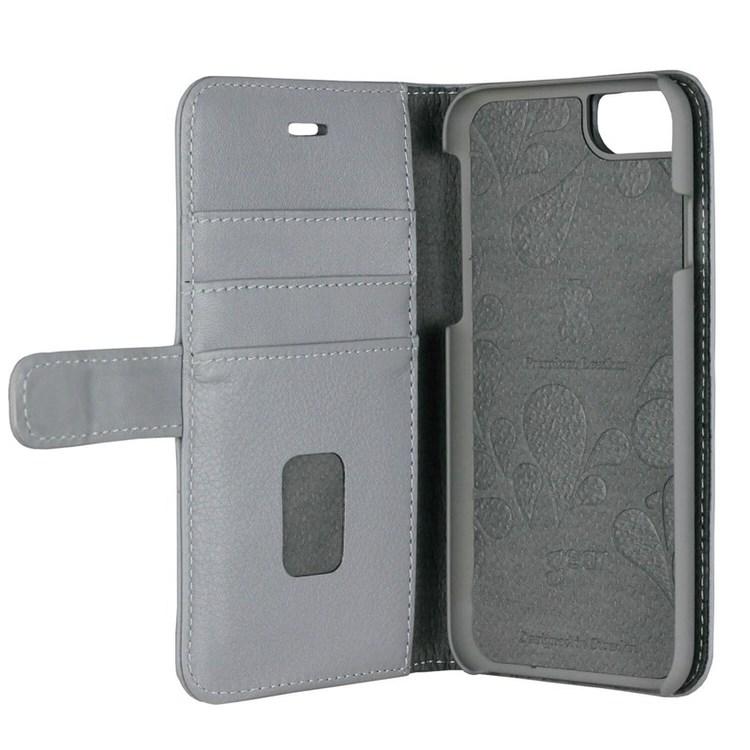 GEAR Plånboksväska Onsala Skinn iPhone 6/7/8