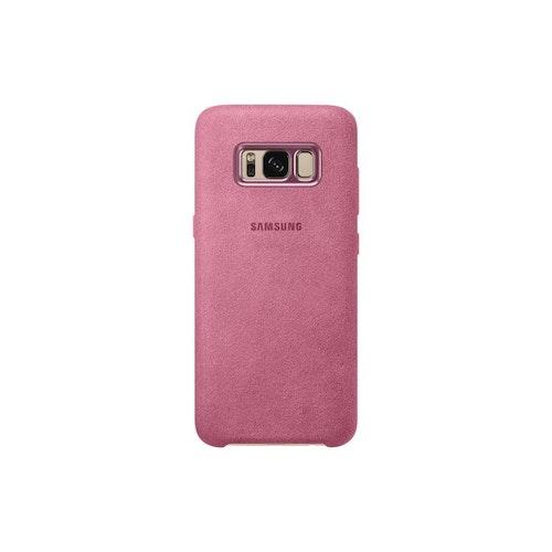 Samsung Galaxy S8, Alcantara Cover, rosa