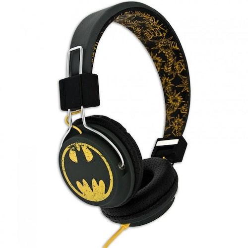 BATMAN Hörlur Tween On-Ear Svart Vintage Batlogo