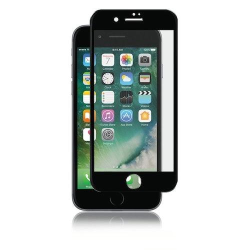 Panzer iPhone 8/7, Curved Silicate Glass, svart