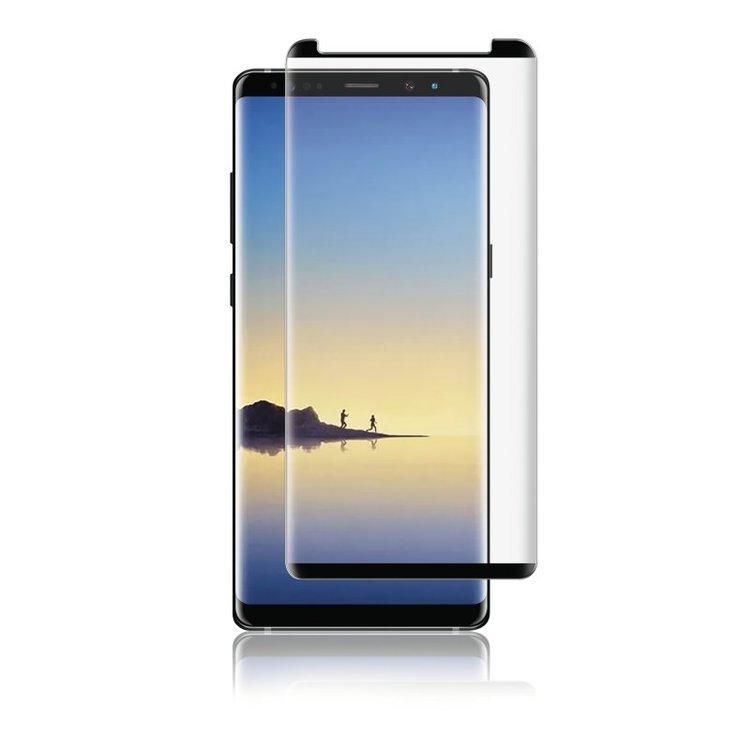 Panzer Samsung Note 8, Curved Glass svart