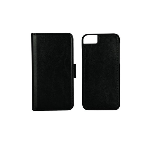 Essentials iPhone 7/6S 3 CC Detachable Wallet, svart