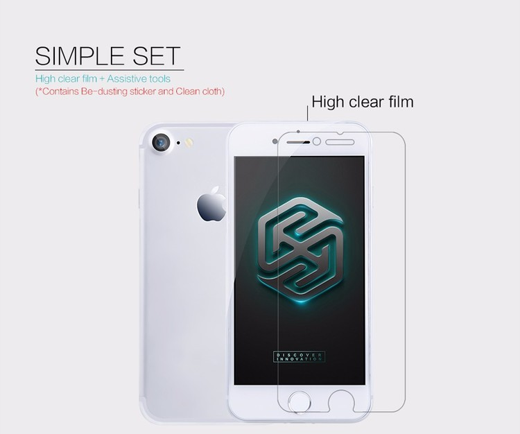 Nillkin Crystal Clear skärmskydd Apple iPhone 7