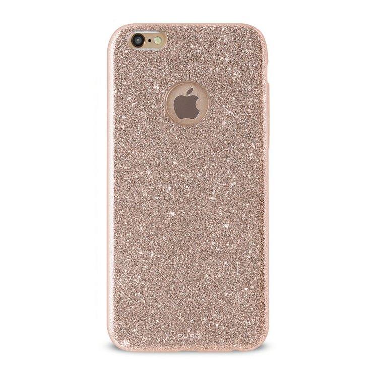 Puro iPhone 8/7 Plus, Shine Cover, guld