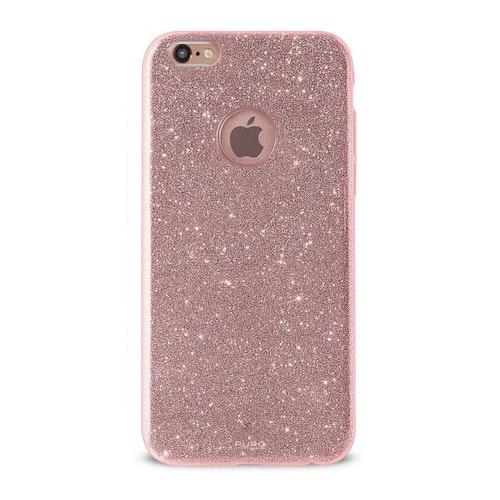 Puro iPhone 8/7 Plus, Shine Cover, rosaguld