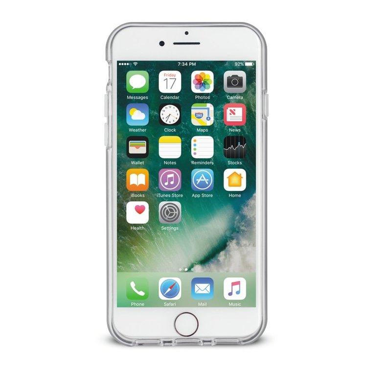 Puro iPhone 7/6/6S Plus, Marble Cover, vit