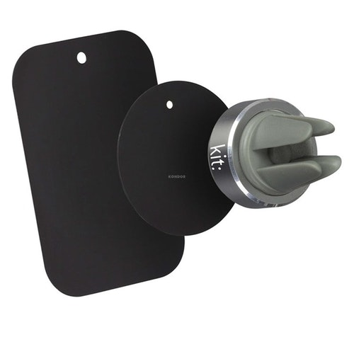 KIT Bilhållare Magnet Grå för Fläktgaller