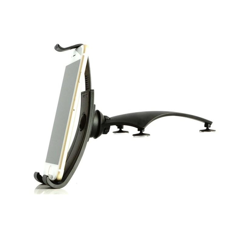 UNISYNK Mobilhållare Svart Monteras på Instrumentbräda