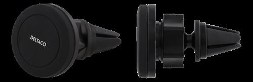 DELTACO bilhållare med magnet för ventilationsgaller