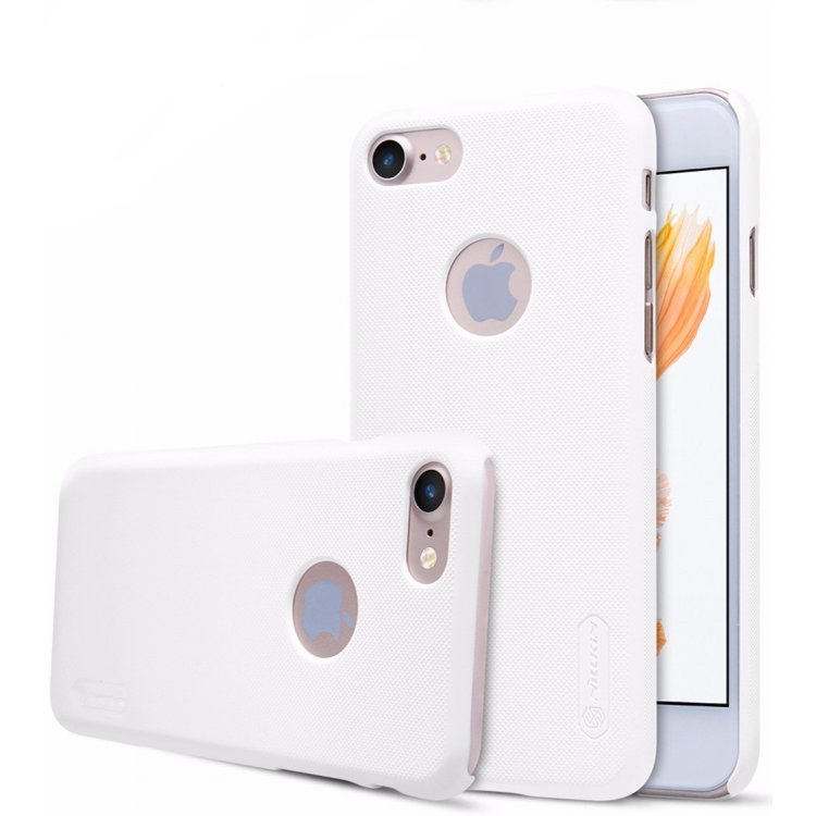 Nillkin super frosted shield case for Apple iPhone 7  färg vit