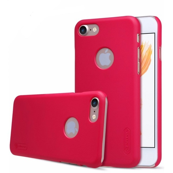Nillkin super frosted shield case for Apple iPhone 7 färg röd