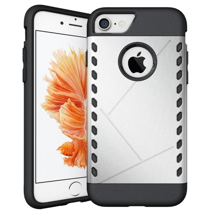 Armour shield case till iPhone 7 - silver