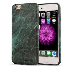 Skal i gummi (TPU), iPhone 7, marmormönster