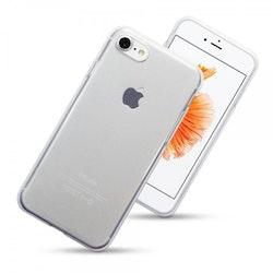 Qubits Apple iPhone 7 TPU Gel Case genomskinlig