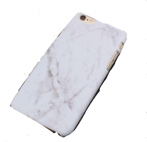 Skal i hårdplast för iPhone 7 marmormönster