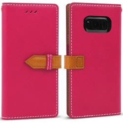 WETHERBY WALLET SNAP SAMSUNG GALAXY S8 ROSA