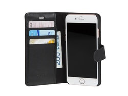 Svive Wallet Cover Svart till iPhone 6s Plus / 6 Plus, läder