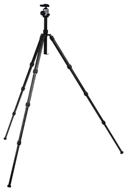 Kamera/video Stativ Kulhuvud 134 cm Svart
