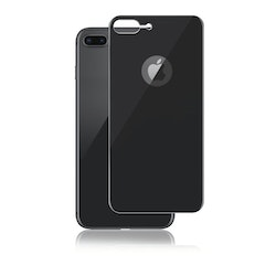 Panzer iPhone 8 Plus, Curved Silicate Glass Back, Space Grey