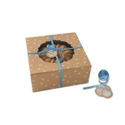 Nordic Ware Natural Bakeware Presentboxar 4-pack Brun