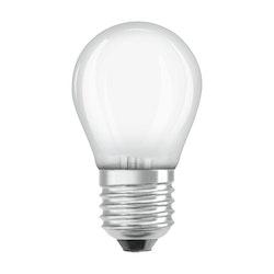 Osram LED Retro-lampa, E27, 4,5W/40W, dimbar